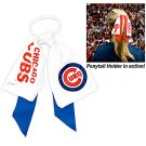 Chicago Cubs Ponytail Holder Hair Tie Ribbon Cute