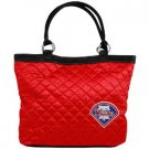 Philadelphia Phillies Littlearth Quilted Tote Bag Purse