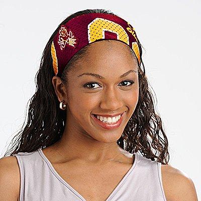 Arizona State University Sun Devils Littlearth FanBand Football Jersey Headband Cute
