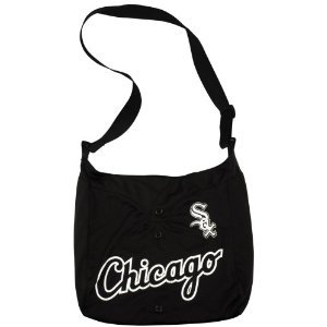 Chicago White Sox Littlearth Baseball Jersey Tote Bag Purse