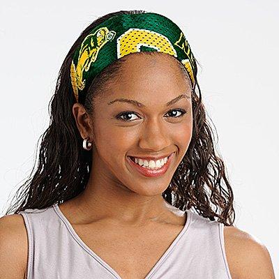North Dakota State University Bison Littlearth FanBand Football Jersey Headband Cute