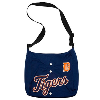 Detroit Tigers Littlearth Home Run Baseball Jersey Tote Bag Gift