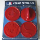 Minnesota Twins Logo Glove Baseball Cookie Cutter Set