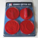Philadelphia Phillies Logo Glove Baseball Cookie Cutter Set