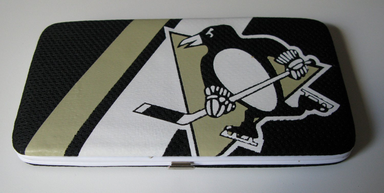 Pittsburgh Penguins Hockey Jersey Clutch Shell Wallet