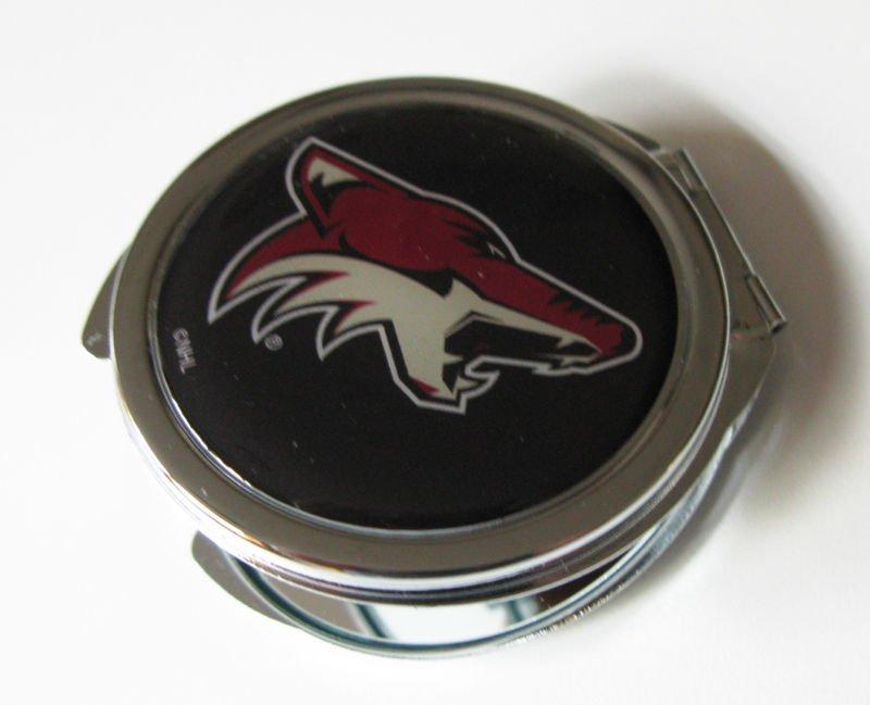 Phoenix Coyotes Ladies Compact Mirror w/Floral Design