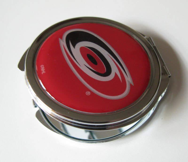 Carolina Hurricanes Ladies Compact Mirror w/Floral Design