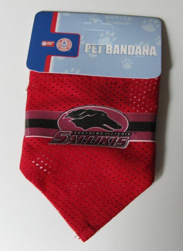 Southern Illinois University Salukis Pet Dog Football Jersey Bandana S/M