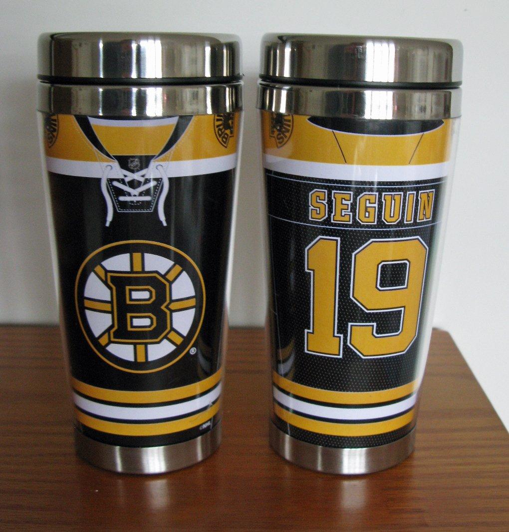 Tyler Seguin Boston Bruins 16oz Travel Tumbler Mug