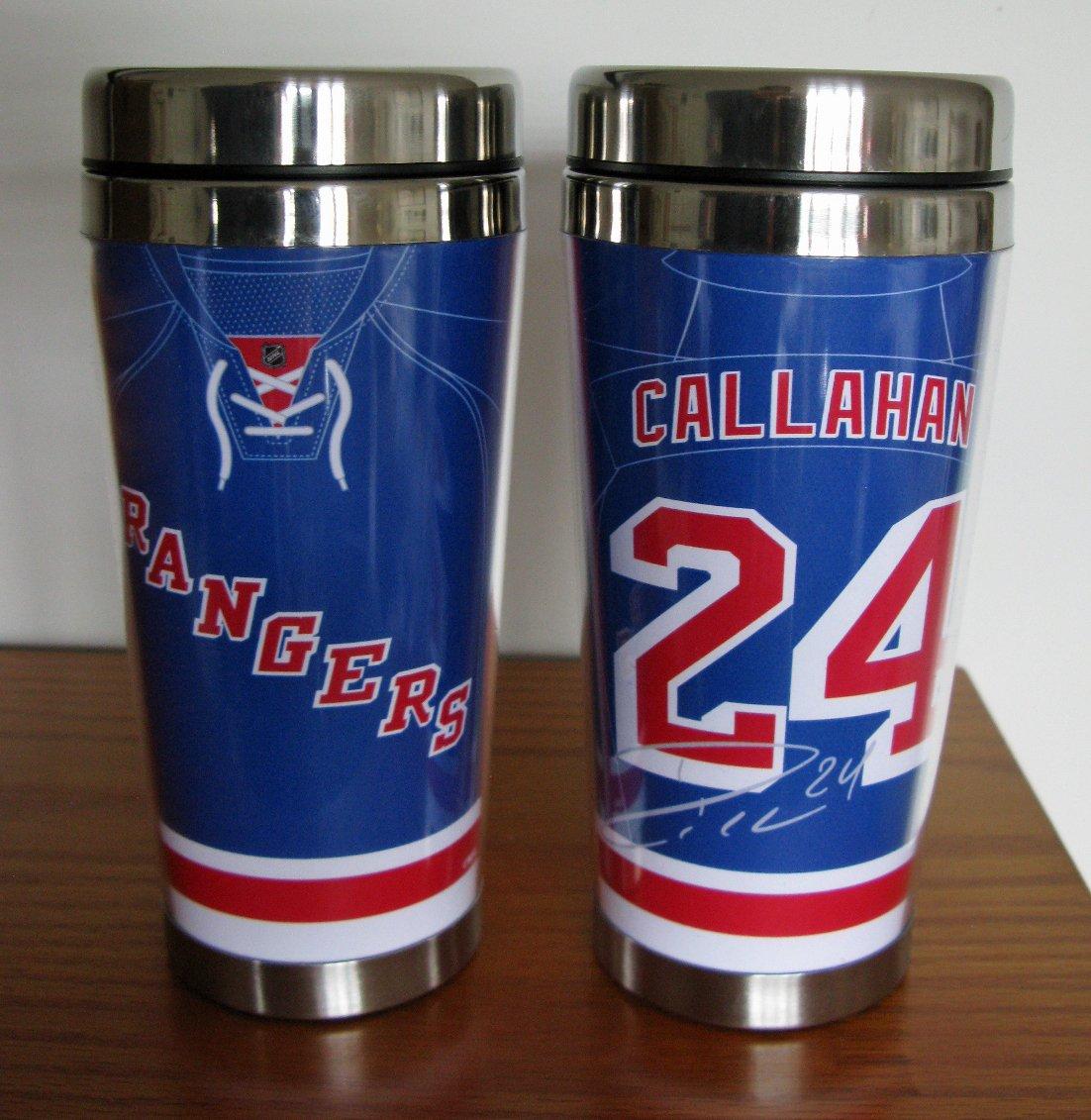 Ryan Callahan New York Rangers 16oz Travel Tumbler Mug