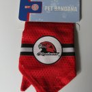 Miami of Ohio University Redhawks Pet Dog Football Jersey Bandana M/L