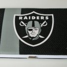 Oakland Raiders Football Jersey Clutch Shell Wallet