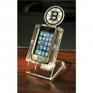 Boston Bruins Acrylic Cell Fan Stand for Smart Phone MP3 w/ Swivel Large