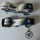 San Diego Padres Pet Dog Leash Set Collar ID Tag XS