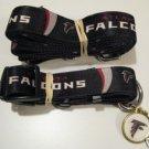 Atlanta Falcons Pet Dog Leash Set Collar ID Tag XS