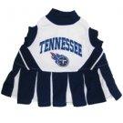Tennessee Titans Pet Dog Cheerleader Dress Outfit Medium