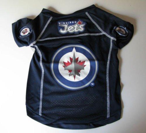 Winnipeg Jets Pet Dog Hockey Jersey Small