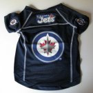 Winnipeg Jets Pet Dog Hockey Jersey Medium