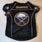 Buffalo Sabres Pet Dog Hockey Jersey Small v3