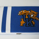 Kentucky University Wildcats Football Jersey Clutch Shell Wallet