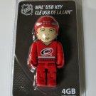 Carolina Hurricanes Hockey Player 4GB USB Key 2.0 Flash Drive