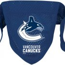 Vancouver Canucks Pet Dog Hockey Jersey Bandana S/M