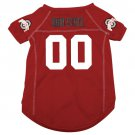 Ohio State University Buckeyes Pet Dog Football Jersey Small