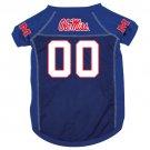 Mississippi University Rebels Pet Dog Football Jersey XL