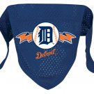 Detroit Tigers Pet Dog Baseball Jersey Bandana M/L