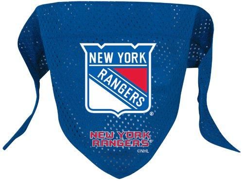 NY New York Rangers Pet Dog Hockey Jersey Bandana M/L