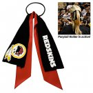 Washington Redskins Ponytail Holder Hair Tie Ribbon Cute