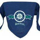 Seattle Mariners Pet Dog Baseball Jersey Bandana S/M