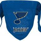 St. Louis Blues Pet Dog Hockey Jersey Bandana S/M