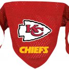 Kansas City Chiefs Pet Dog Football Jersey Bandana M/L
