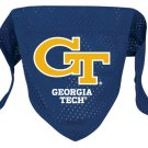 Georgia Tech Yellow Jackets Pet Dog Football Jersey Bandana M/L
