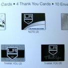 Los Angeles Kings Note/Thank You Card Pack w/ Envelopes (10)