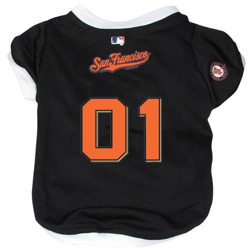 San Francisco Giants Pet Dog Baseball Jersey w/Buttons XL