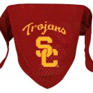 University of Southern California USC Trojans Pet Dog Football Jersey Bandana S/M