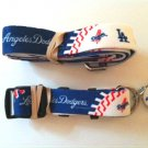 Los Angeles Dodgers Pet Dog Leash Set Collar ID Tag Medium
