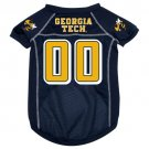Georgia Tech University Yellow Jackets Pet Dog Football Jersey XL