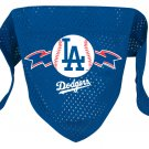 Los Angeles Dodgers Pet Dog Baseball Jersey Bandana M/L