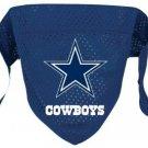 Dallas Cowboys Pet Dog Football Jersey Bandana S/M