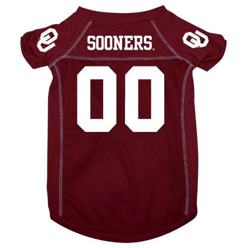 Oklahoma University Sooners Pet Dog Football Jersey XL