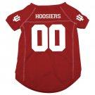 Indiana University Hoosiers Pet Dog Football Jersey Large