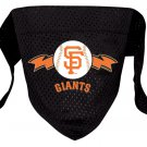San Francisco Giants Pet Dog Baseball Jersey Bandana S/M