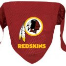Washington Redskins Pet Dog Football Jersey Bandana M/L