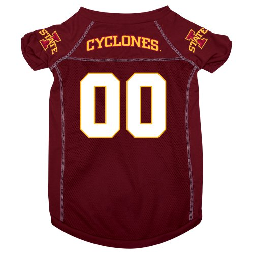 Iowa State University Cyclones Pet Dog Football Jersey Medium