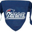 New England Patriots Pet Dog Football Jersey Bandana M/L