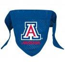 Arizona University Wildcats Pet Dog Football Jersey Bandana S/M