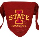 Iowa State Cyclones Pet Dog Football Jersey Bandana M/L